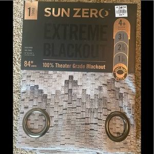Sun Zero 100% Theatre Grade Blackout Curtains